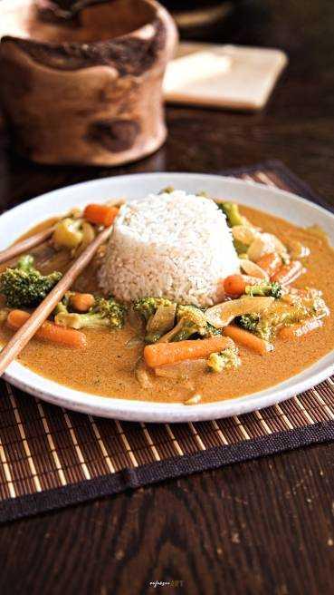 Gemüse Curry Abbildung 1