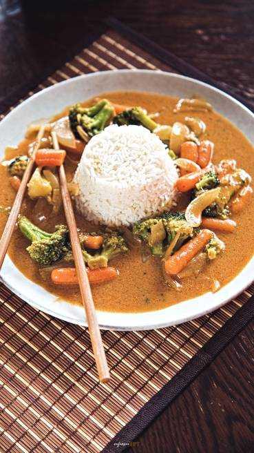 Gemüse Curry Abbildung 2