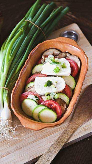 Sardisches Gemüse Gratin Abbildung 1