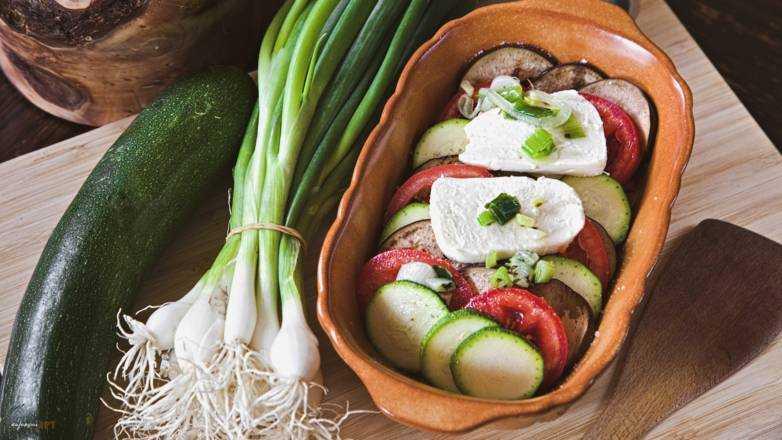 Sardisches Gemüse Gratin Rezept