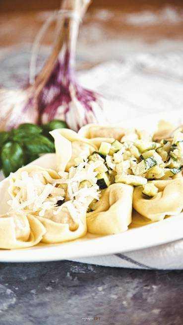 Tortellini Zucchini Soße Abbildung 1