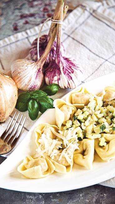 Tortellini Zucchini Soße Abbildung 2