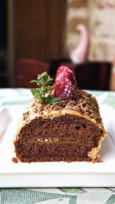 Baumstamm Kuchen Abbildung 2