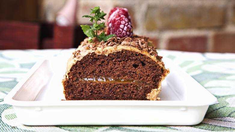 Baumstamm Kuchen Rezept