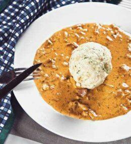 Eierschwammerl Gulasch / Pfifferling Gulasch – Pilze mit Pfiff