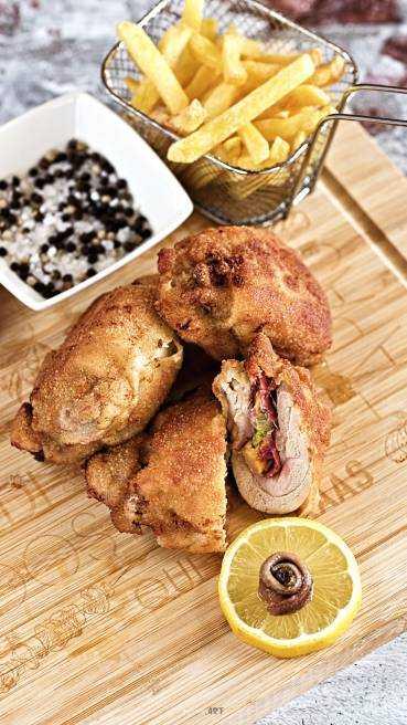 Gebackenes Huhn Pilzfüllung Abbildung 2