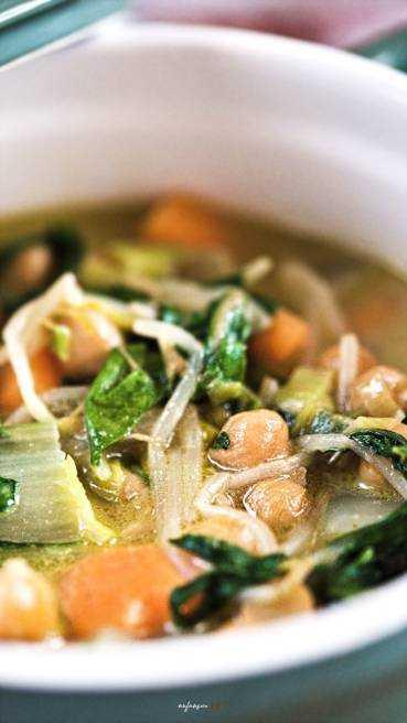 Grünes Gemüse Curry Abbildung 1