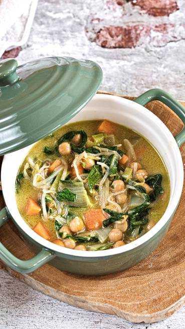 Grünes Gemüse Curry Abbildung 3