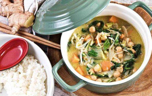 Grünes Gemüse Curry Rezept