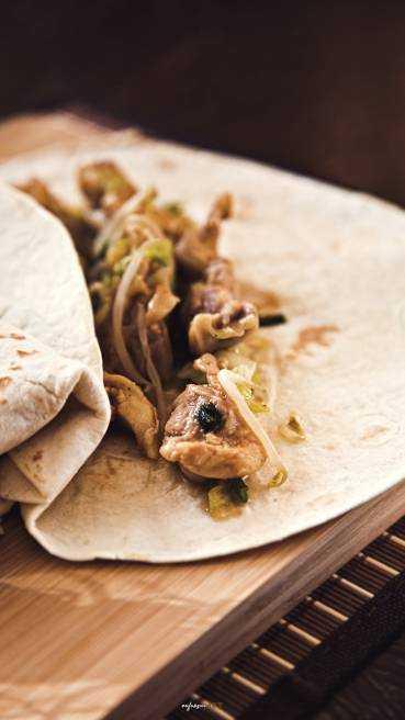 Hühnchen Tortilla Abbildung 1