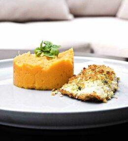 Kabeljau Filet an Kräuterkruste, einfach und schnell!