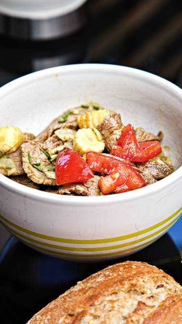Rindfleisch Salat Abbildung 1