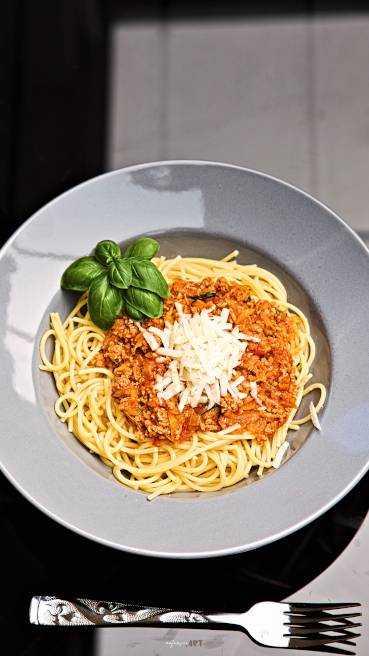 Spaghetti Bolognese Art des Hauses Abbildung 2