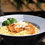 Spaghetti Bolognese Art des Hauses Rezept