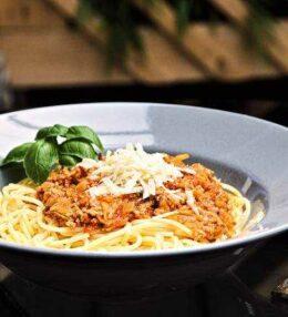 Spaghetti Bolognese nach Art des Hauses, einfach gut!