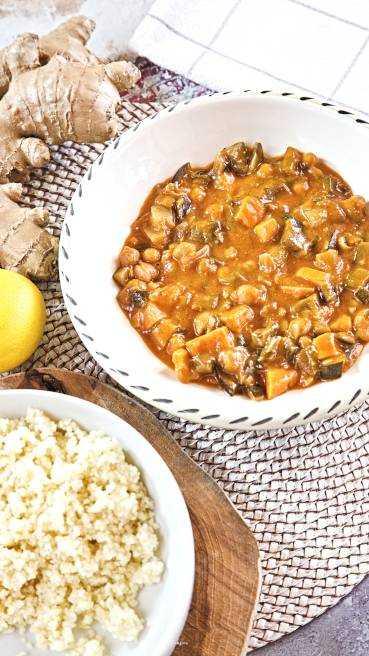 veganes Curry Abbildung 1