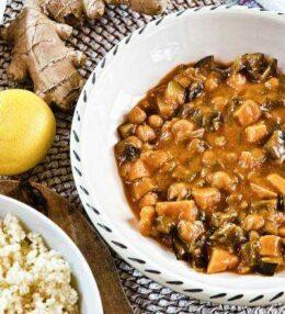 rotes Kichererbsen Curry, vegan, himmlisch, einfach