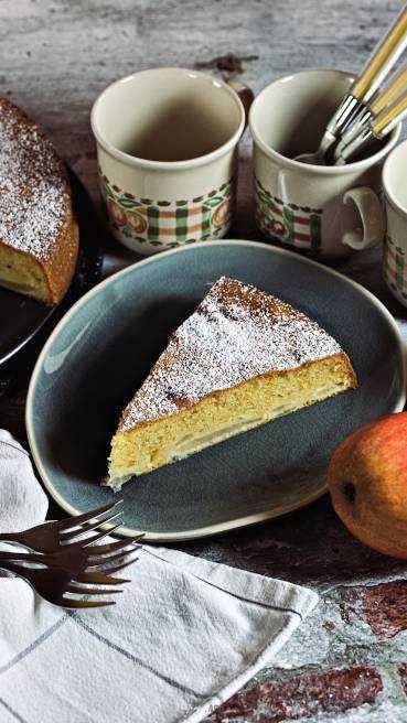 Französischer Birenenkuchen Abbildung 1