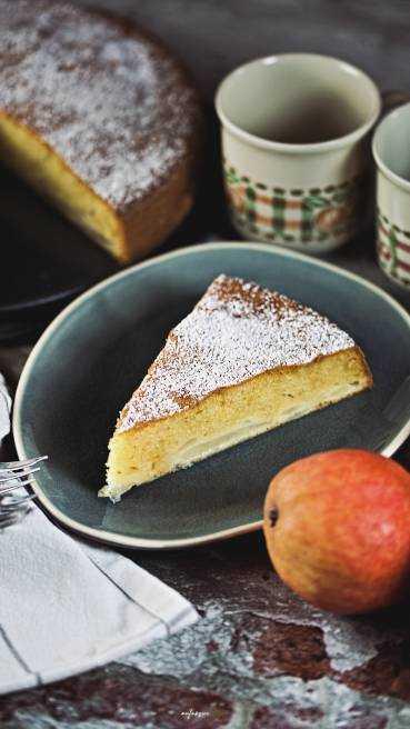 Französischer Birenenkuchen Abbildung 2