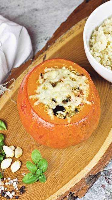 Kurbis vegetarisch gefüllt Abbildung 2