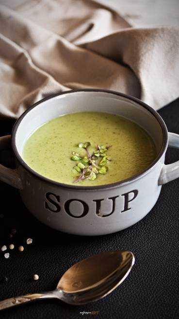 Brokkoli Karfiol Creme Suppe Abbildung 1