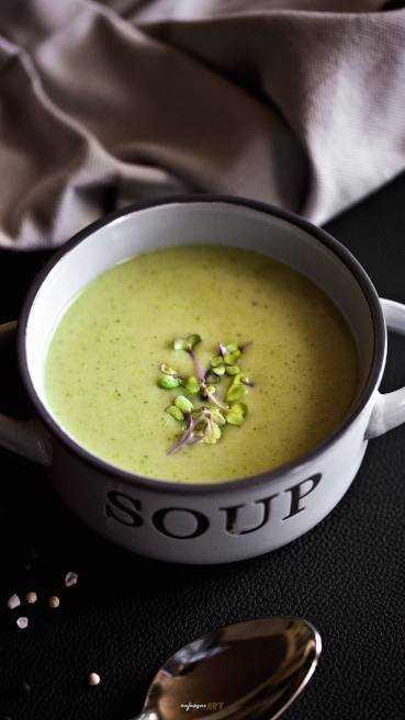 Brokkoli Karfiol Creme Suppe Abbildung 2