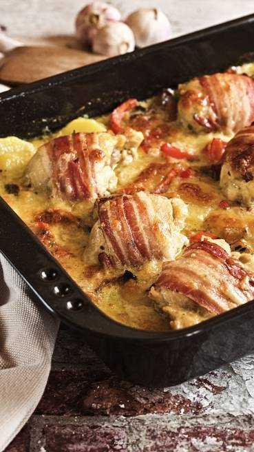 Huhn Kartoffel Auflauf Abbildung 1