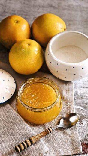 Orangen Marmelade Abbildung 1