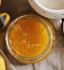 Orangen Marmelade, 100% Frucht einfach im Glas