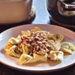 Tortellini Gorgonzola Speck Rezept
