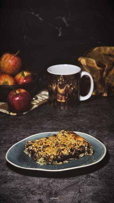 Apfel Schoko Nuss Kuchen Abbildung 2