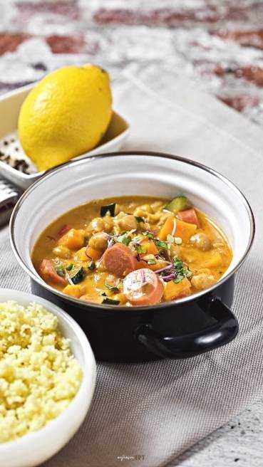 Gemuese Curry Wuerstchen Abbildung 2