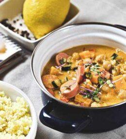 Gemüse Curry mit Würstchen, einfach 100% vegan oder nicht!