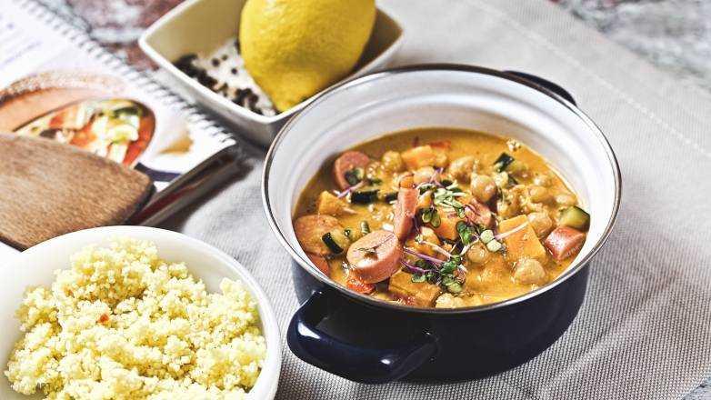 Gemuese Curry Wuerstchen Rezept