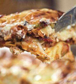 Gemüse Lasagne, (pst, mit Tofu) himmlisch vegetarisch