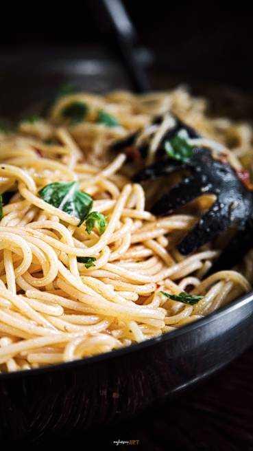 Knoblauch Spaghetti Abbildung 2