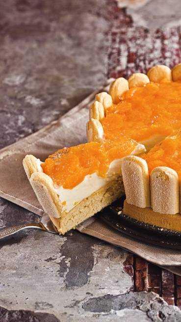 Mandarinen Joghurt Torte Abbildung 2