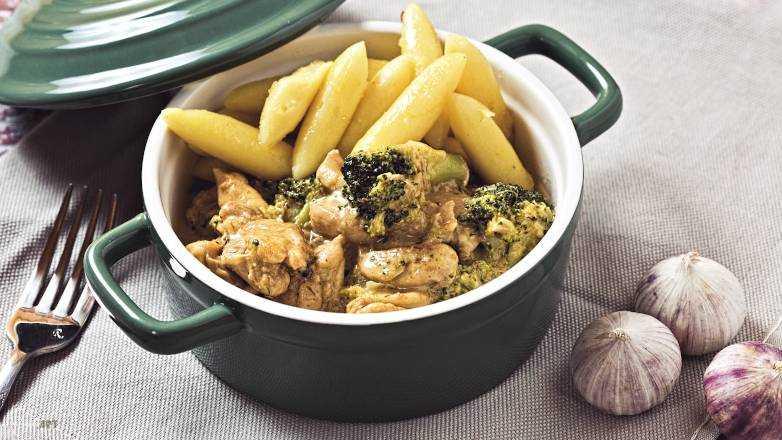 Schupfnudel Huhn Brokkoli Pfanne Rezept