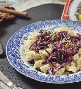 Thunfisch Rotkraut Nockerl, schnell und einfach zubereitet