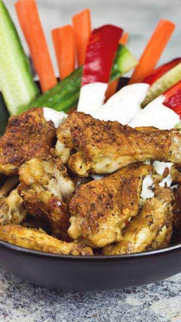 Chicken Wings Cajun Style Abbildung 1