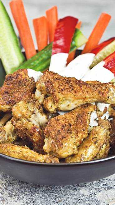 Chicken Wings Cajun Style Abbildung 2