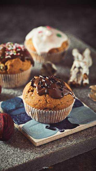 Heidelbeer Schoko Muffins Abbildung 1