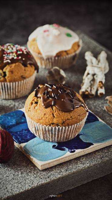 Heidelbeer Schoko Muffins Abbildung 2