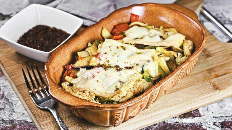 Raclette Auflauf Rezept