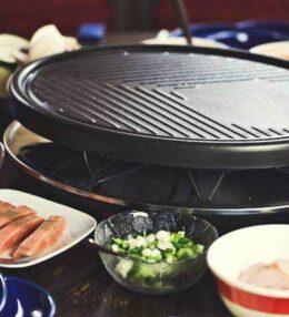 Raclette, vom Käse schmelzen und Gemeinsamkeiten