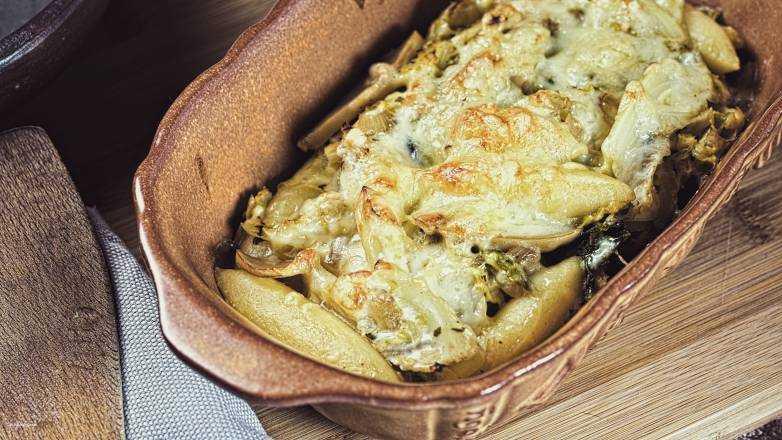 Schupfnudel Pilz Auflauf Rezept