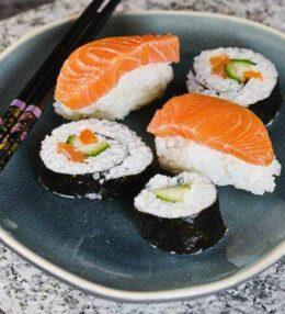 Sushi & Maki, einfach gezaubert, Genuss mit Fisch und Gemüse