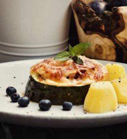 gefüllter Zucchini, herzhaft, 100% lecker, einfach genial