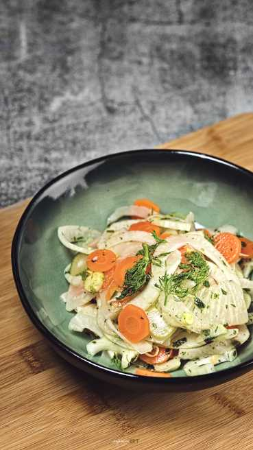Fenchel Sellerie Salat Abbildung 1