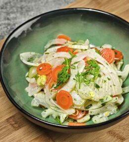 Fenchel Sellerie Salat, frischer Genuss zu jeder Zeit!